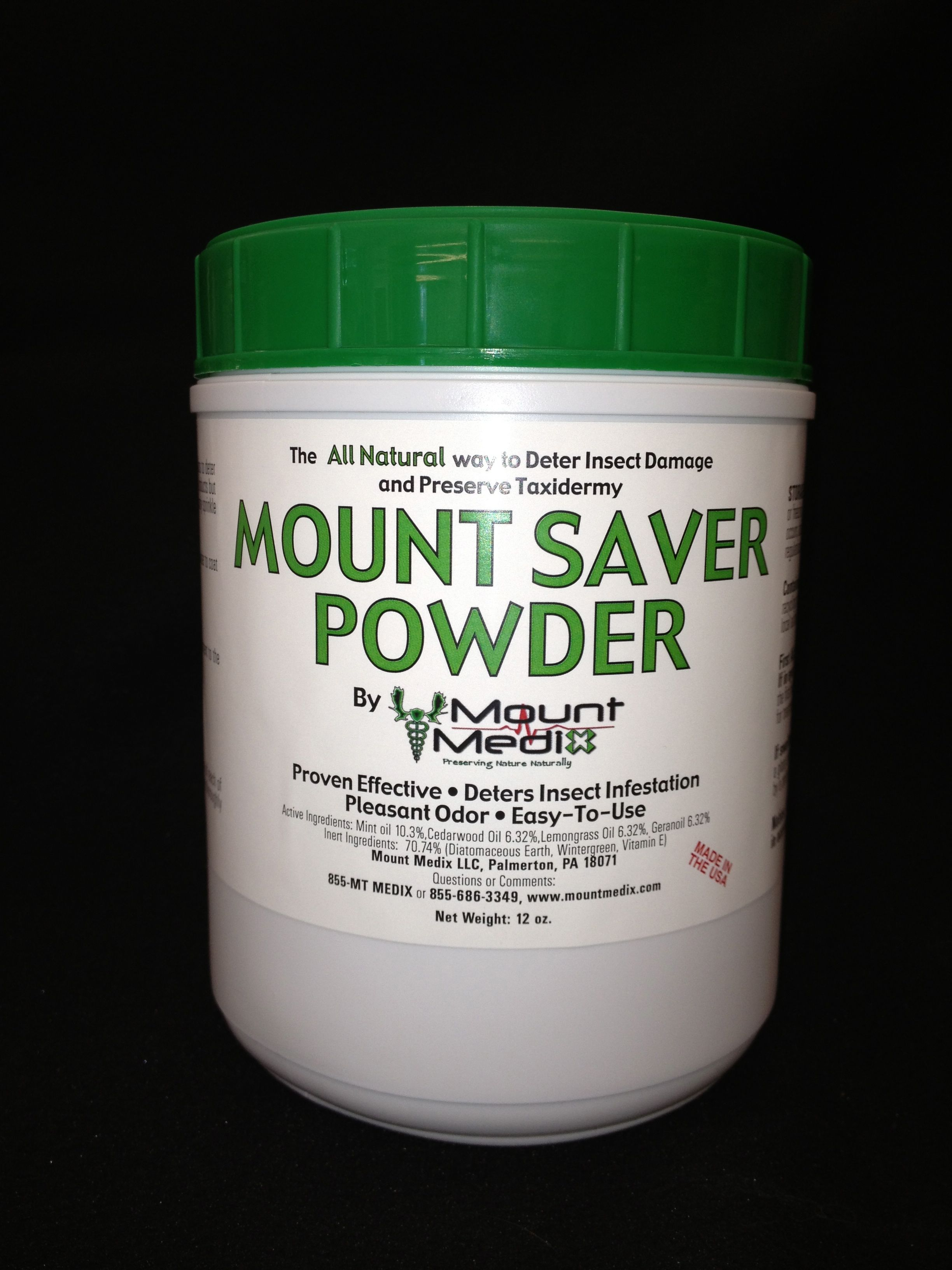 Mount Saver Powder Net weight 12 oz