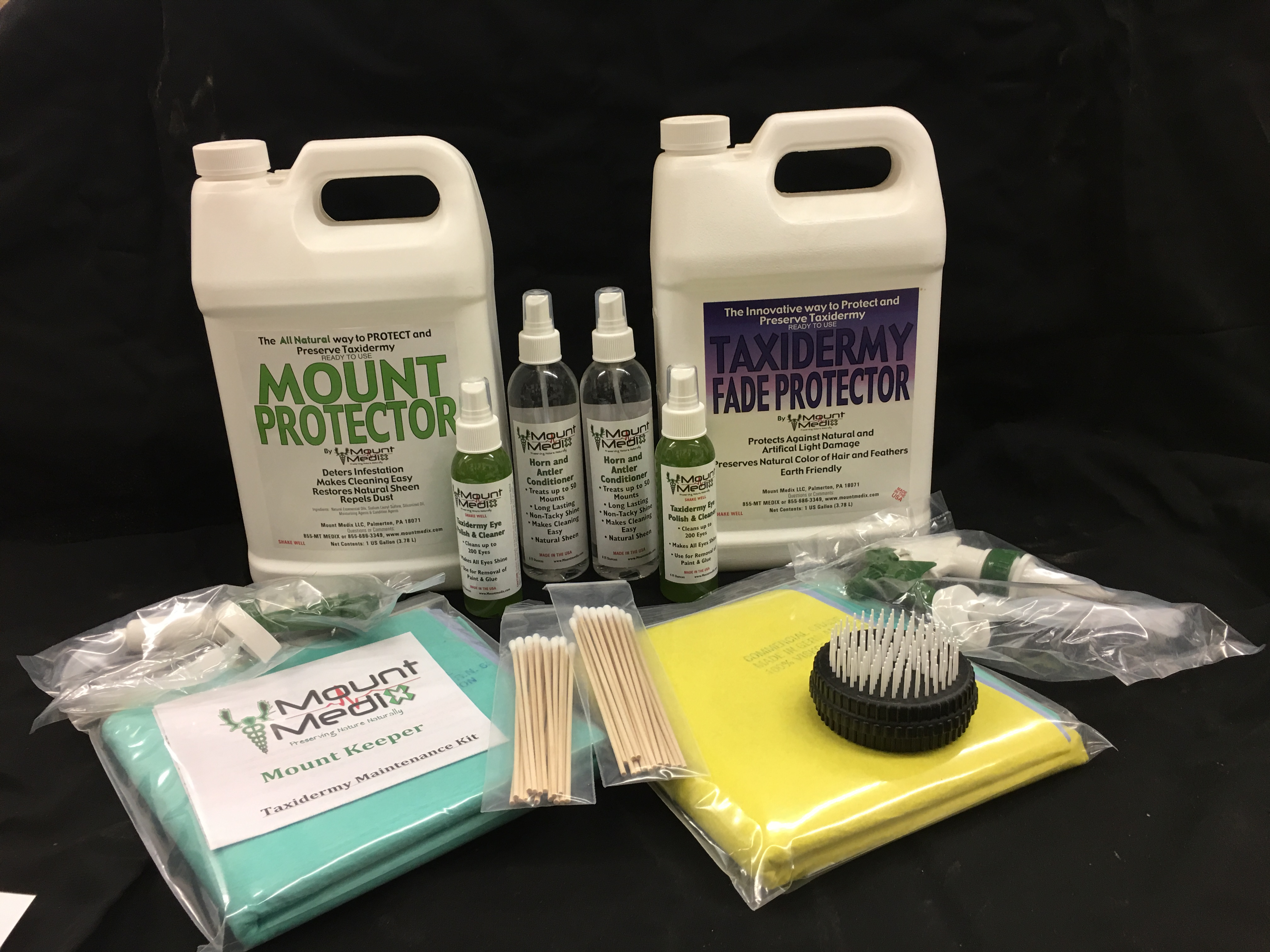 Large Taxidermy Maintenance Kit