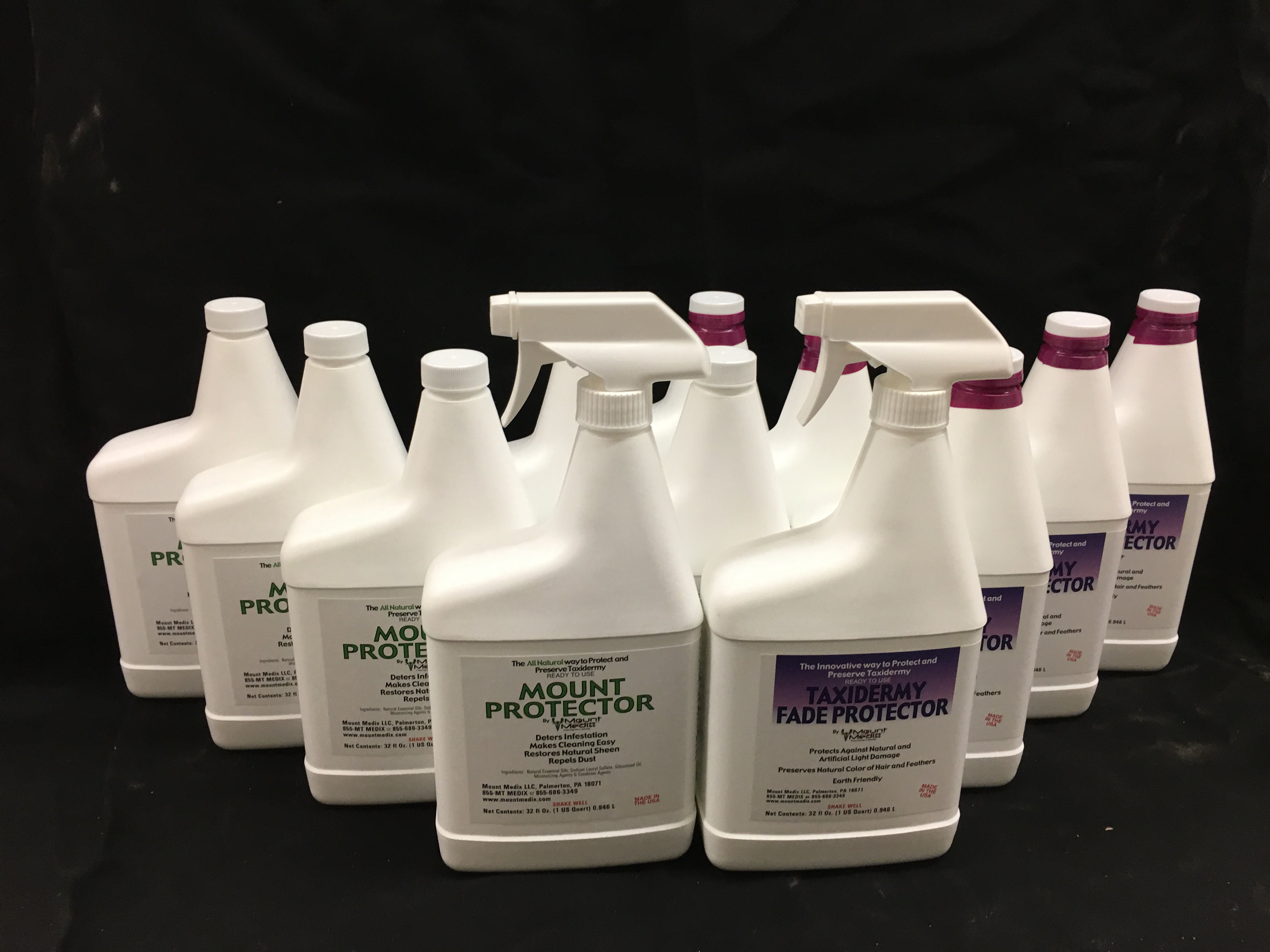 Case of 12 mixed Mount and Fade Protector, 12 oz