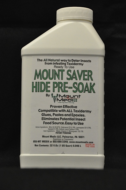 Mount Saver™ Hide Pre Soak, Quart